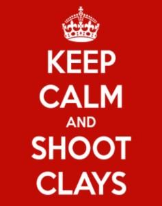 Shoot clays