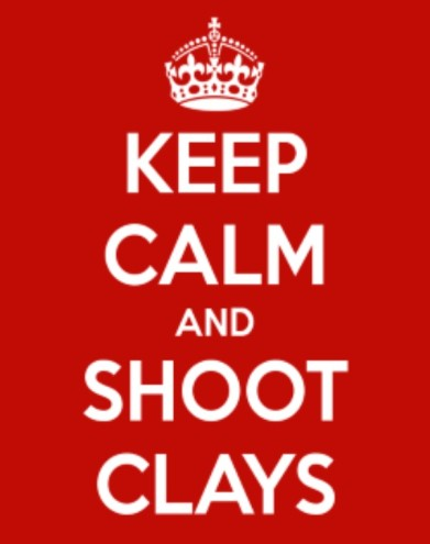 Shoot clays