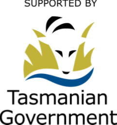 Supported by the Tasmanian Govt